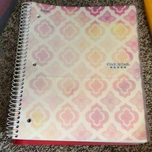 1 subject wide rule notebooks